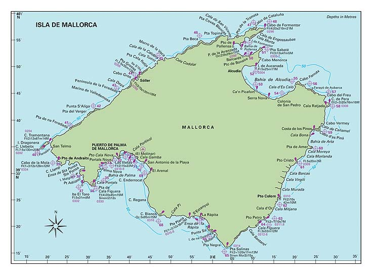 A Guide to the Marinas of Mallorca Majorca images Maps and