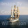 Tall Ship Simon Bolivar south of Mallorca.
